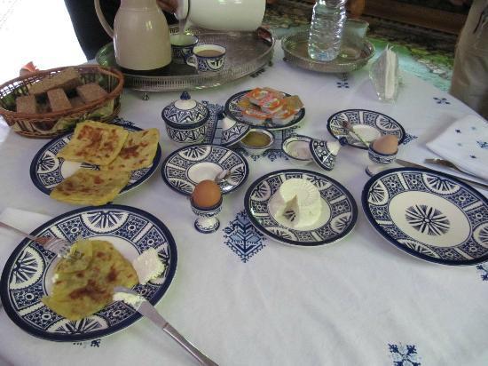 Riad Raouia : desayuno