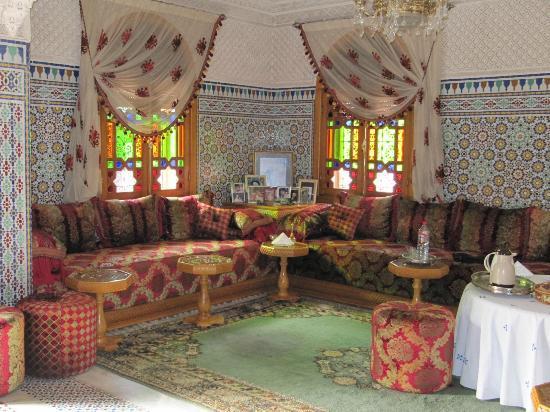 Riad Raouia : salón_comedor