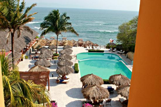 The Royal Suites Punta de Mita: la alberca de adultos con vista al mar