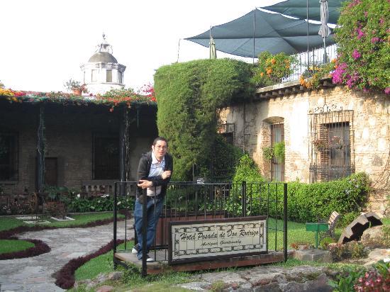 Hotel Posada de Don Rodrigo: Jardín