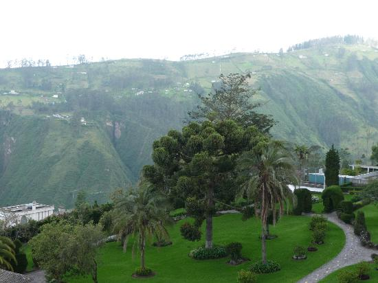 Hotel Quito: View from our room