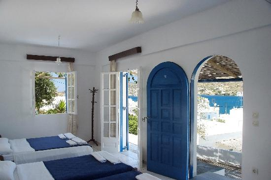 Pension The Big Blue: Rooms