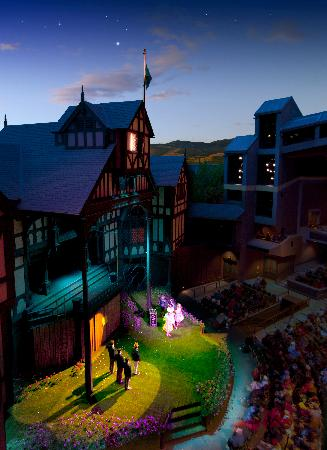 Oregon Shakespeare Festival : Love's Labor's Lost (2011). Photo: T. Charles Erickson.