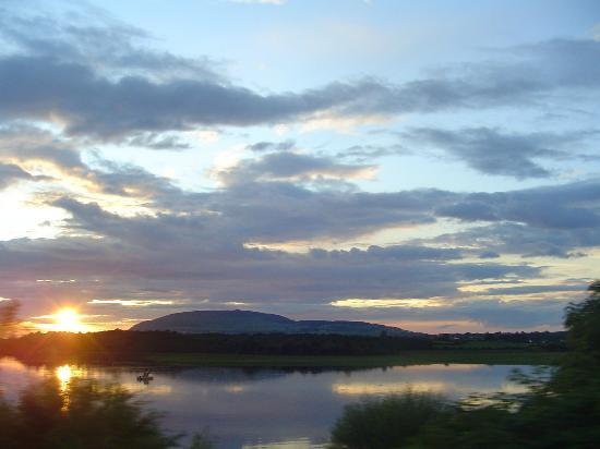 View of Knocknarea at Sunsest
