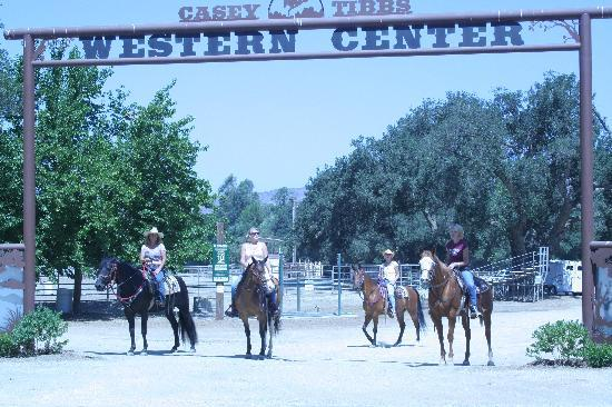 San Vicente Golf Resort: Casey Tibbs Equestrian Center