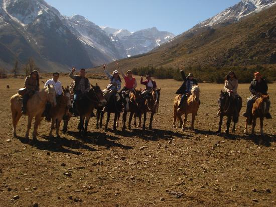 Σαντιάγκο, Χιλή: cabalgando