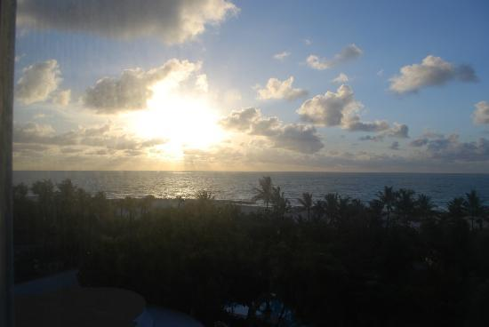 The Palms Hotel & Spa: sunrise from our room 616