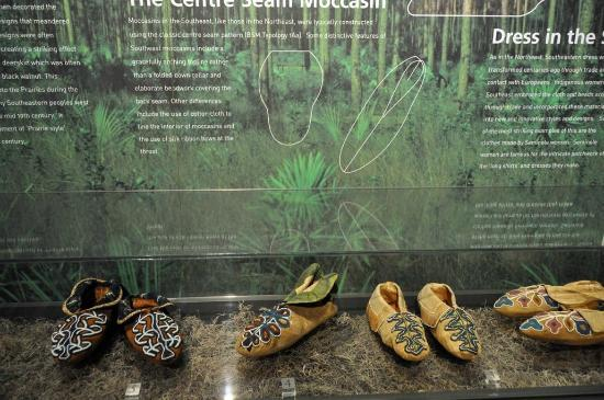 Bata Shoe Museum: How to make a mocassin - plus unbelieveably intricate beadwork