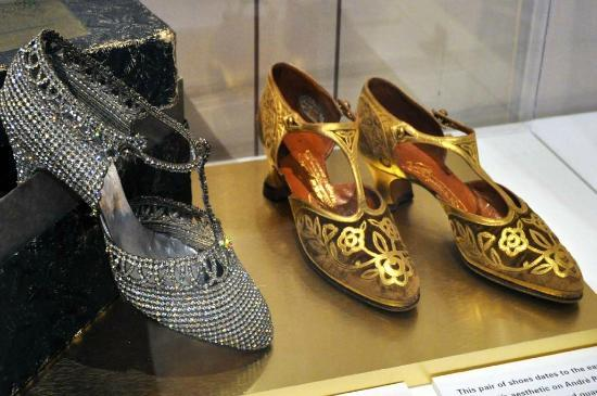 Bata Shoe Museum: Magnificently decorated 1920s shoes.