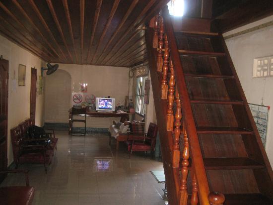 Choumkhong Guesthouse: Erdgeschoss