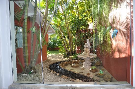 Ubatuba Palace Hotel: Uno de los Jardines internos del Hotel