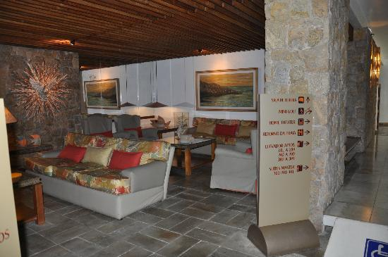 Ubatuba Palace Hotel: Living del Hotel