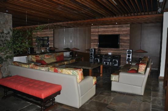 Ubatuba Palace Hotel: Sector de home theater