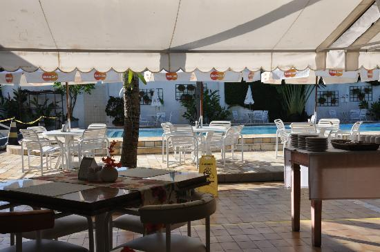 Ubatuba Palace Hotel: El comedor
