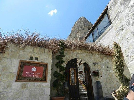 Mithra Cave Hotel: Entrada Principal do Hotel