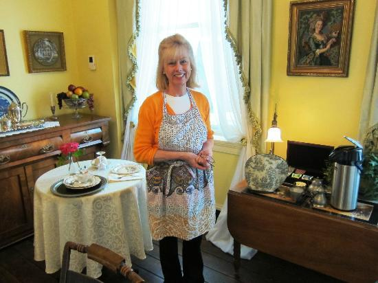Rachael's Dowry Bed and Breakfast: Tish