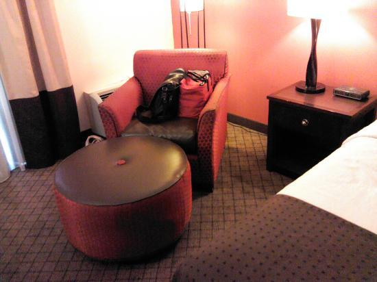 Jameson Hotel & Conference Center: Cool Nouveau chair
