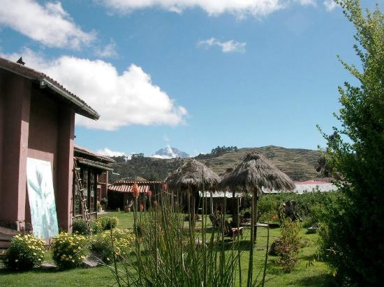 La Casa de Barro Lodge & Restaurant: View from the room on the mountains
