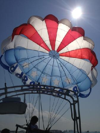 Dockside Watersports & Parasailing: what a way to start your day!