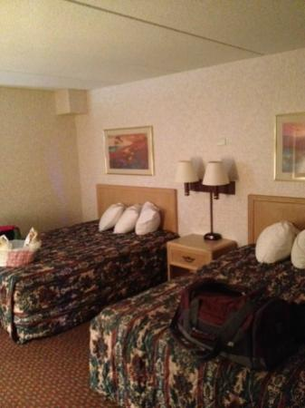 Red Roof Inn TownHouse - Grand Forks : poolside / courtyard room