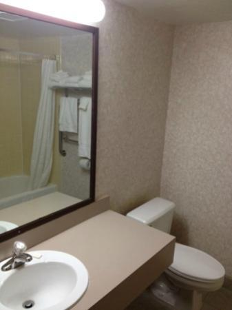 Red Roof Inn TownHouse - Grand Forks: bathroom