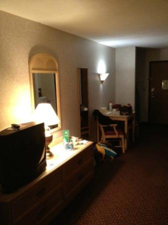 Red Roof Inn TownHouse - Grand Forks: Flatscreen TV's would be a great upgrade