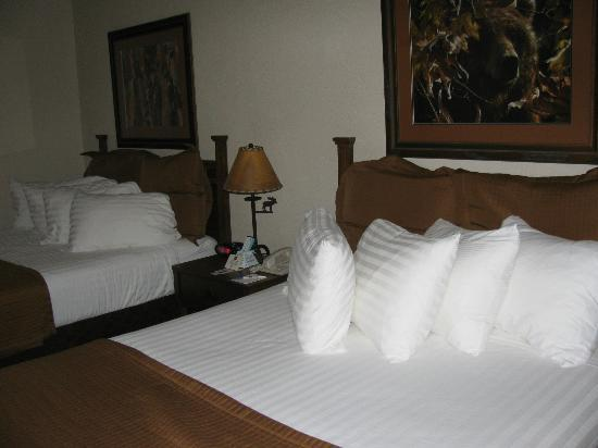 Best Western By Mammoth Hot Springs: Two queen size beds