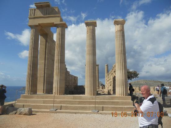 Rodas, Grecia: Acropolis at Lindos