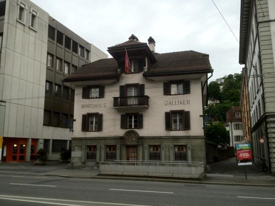 Wirtshaus Galliker: Cadre extérieur