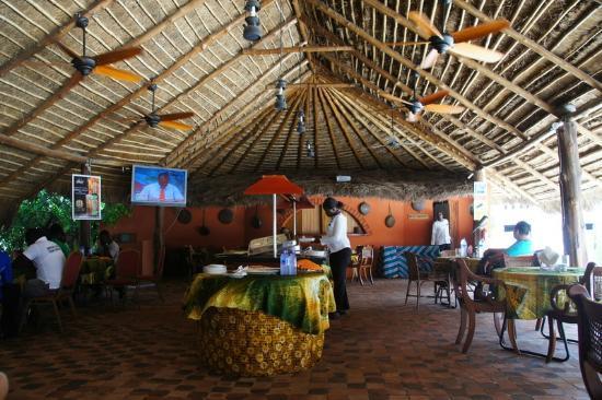 Sekondi-Takoradi, Ghana: Dining space