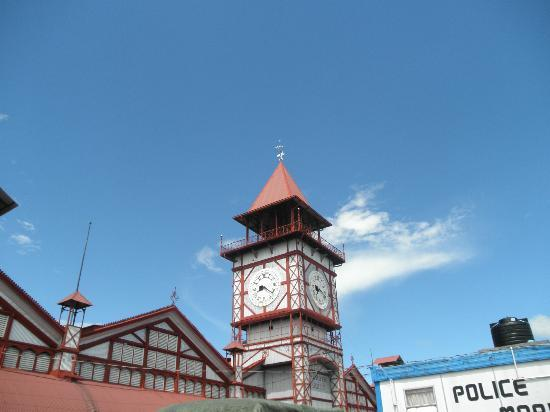 Georgetown, Guiana: Clock tower at Stabroek Market