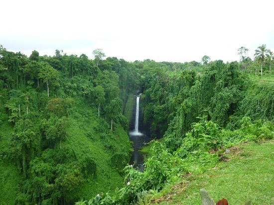 Sopoaga Falls from the lookout