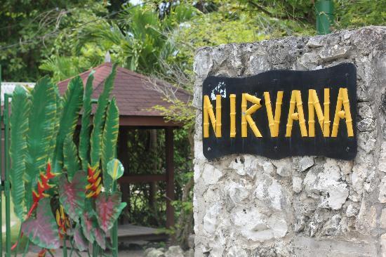 Nirvana on the Beach: entrance