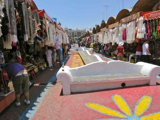 Mercado el Parian: A view through the market