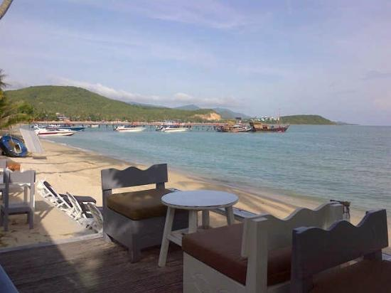Punnpreeda Beach Resort: beach