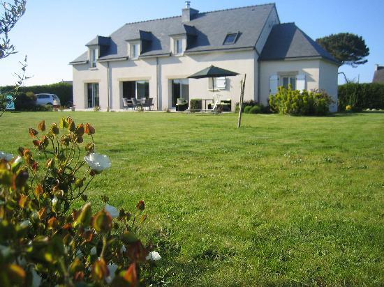 Breizhenson : Maison d'hôtes côté jardin
