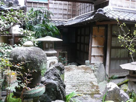 Hoshidekan: garden
