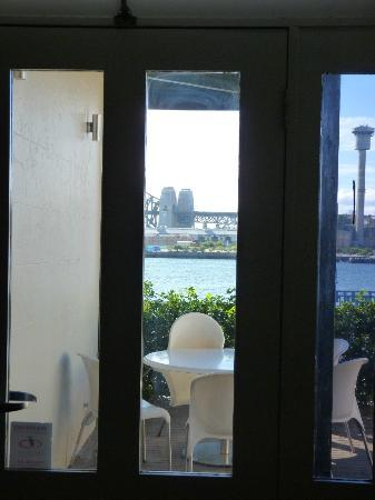 Balmain Wharf Apartments : View from patio door