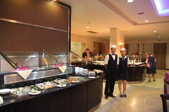 TUI MAGIC LIFE Marmari Palace by Atlantica: Les buffets