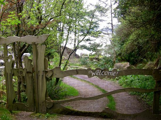 Serenity by the Sea Retreat: the welcome gate