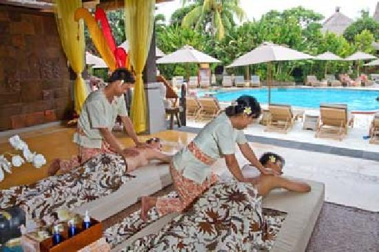 Rama Spa at Ramayana Hotel: Bale