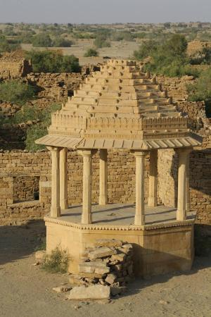 Kuldhara Abandoned Village: a temple like structure