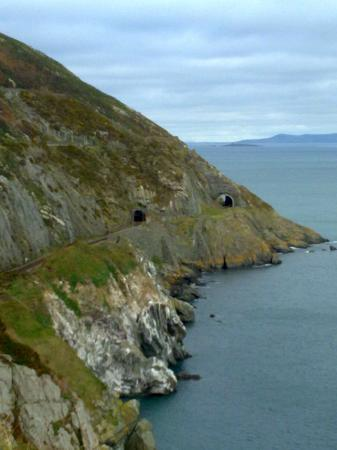 Bray, Ireland: Cliff Walk Train Tunnels