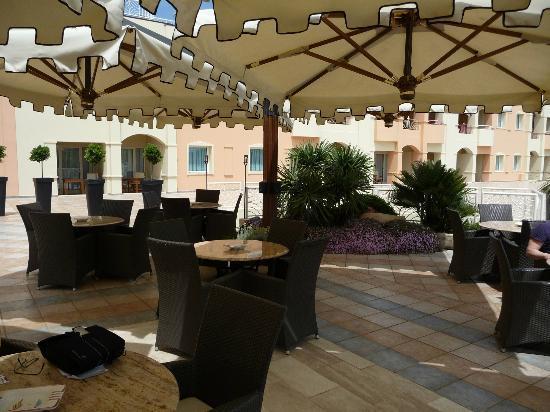 Pullman Timi Ama Sardegna : Terrasse Niveau 1