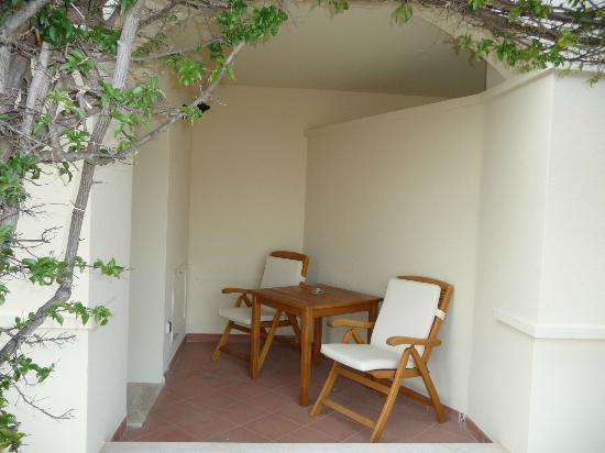 Pullman Timi Ama Sardegna : Ils appellent ça une terrasse :o(