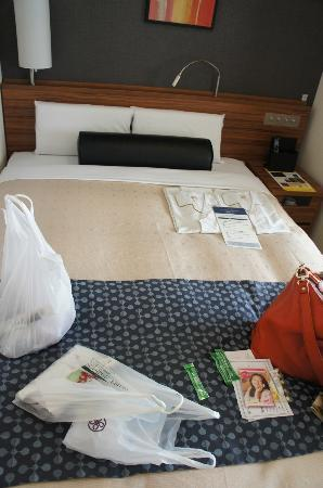 Tokyu Stay Nishishinjuku: The bed