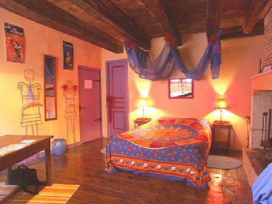 Le Colombier de Cyrano et Roxane: chambre ROXANE