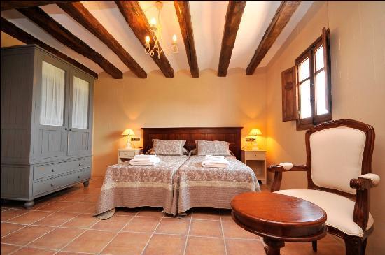 Els Canterers Casa Rural: Bedroom