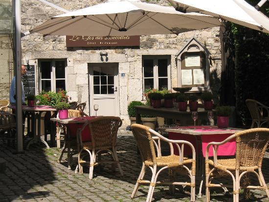 Hotel Restaurant Le Clos des Recollets: Cafe heaven