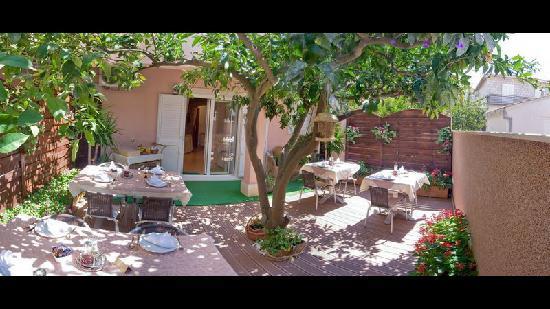 Villa Midea: Garden / Patio by Day